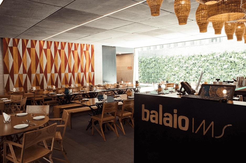 CAFÉ E RESTAURANTE BALAIO: onde comer em SP